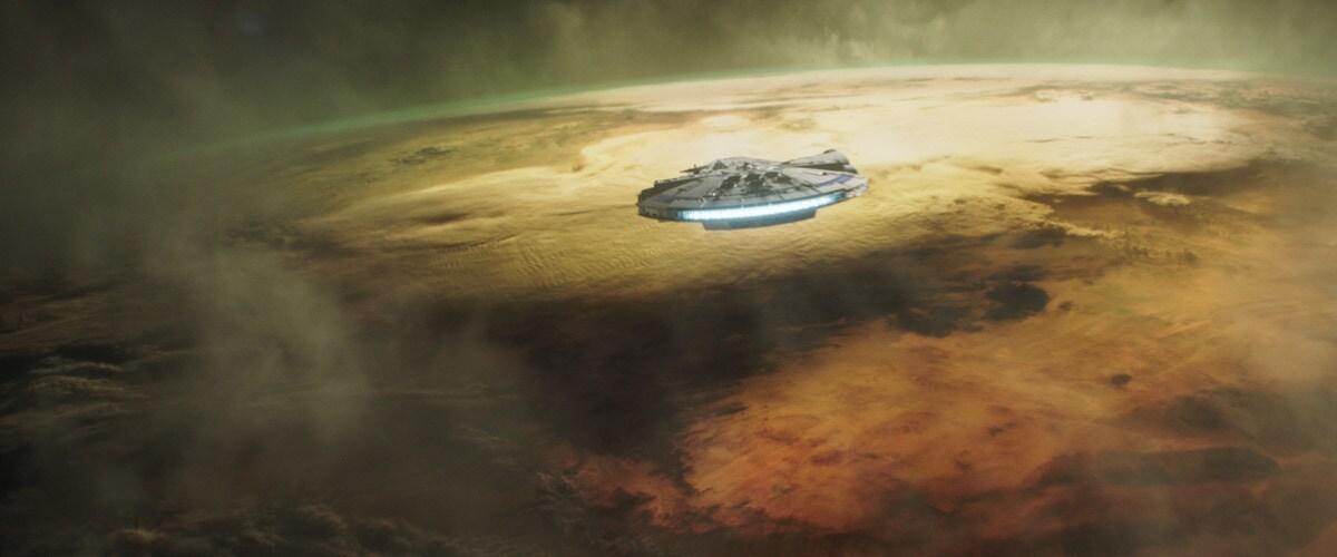 The Millennium Falcon raids Kessel