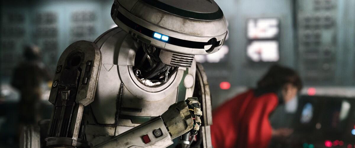 L3-37 declaring a droid revolution on Kessel