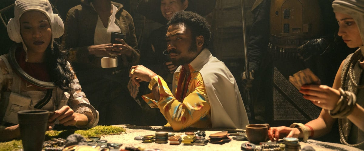 Lando Calrissian gambling on Numidian Prime