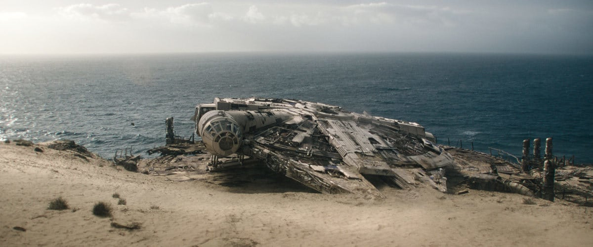 The Dilapidated Millennium Falcon