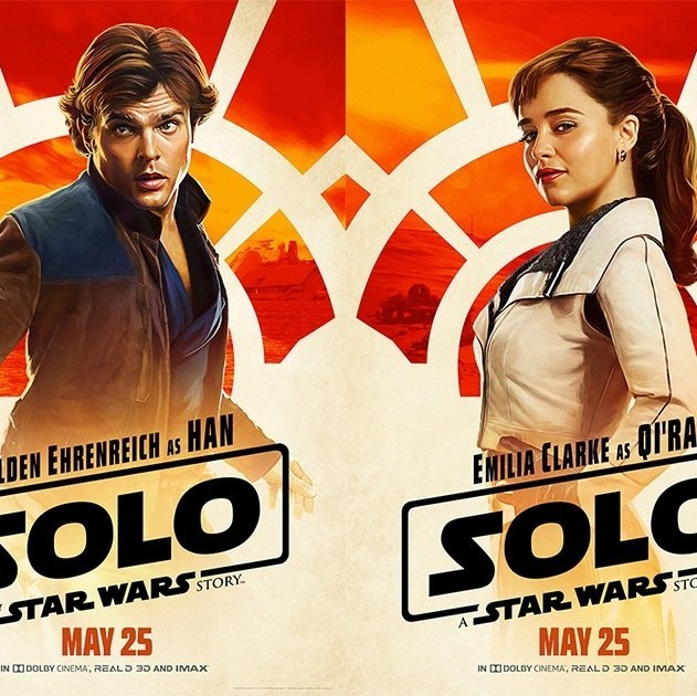 These New Posters for Solo: A Star Wars Story Will Have You Counting Down the Days to the Film