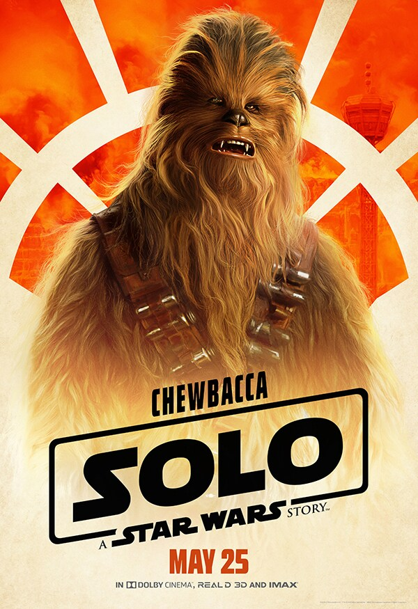 Chewbacca from Solo: A Star Wars Story