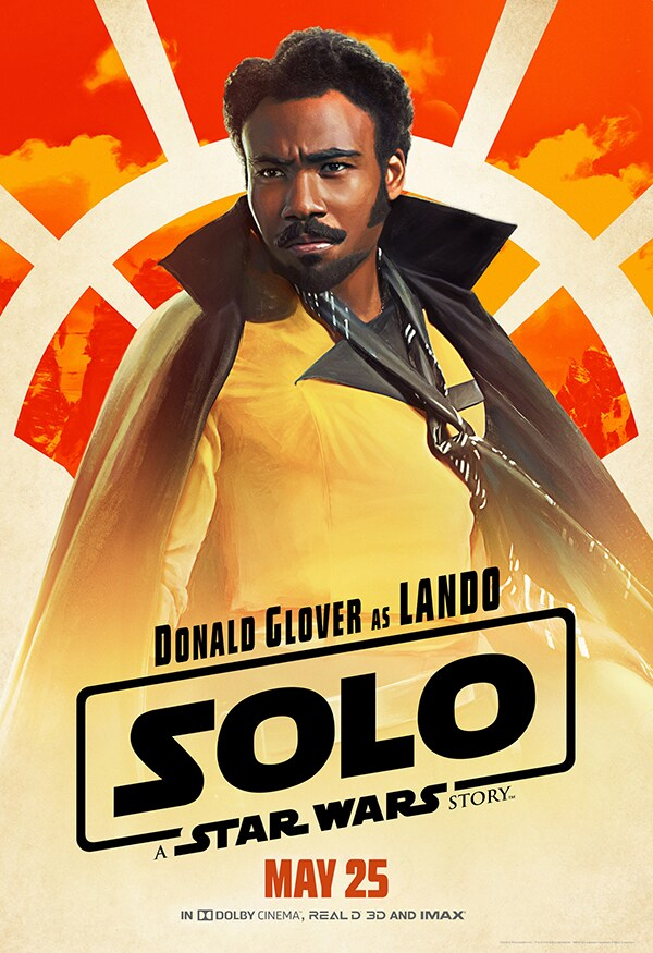 Lando from Solo: A Star Wars Story