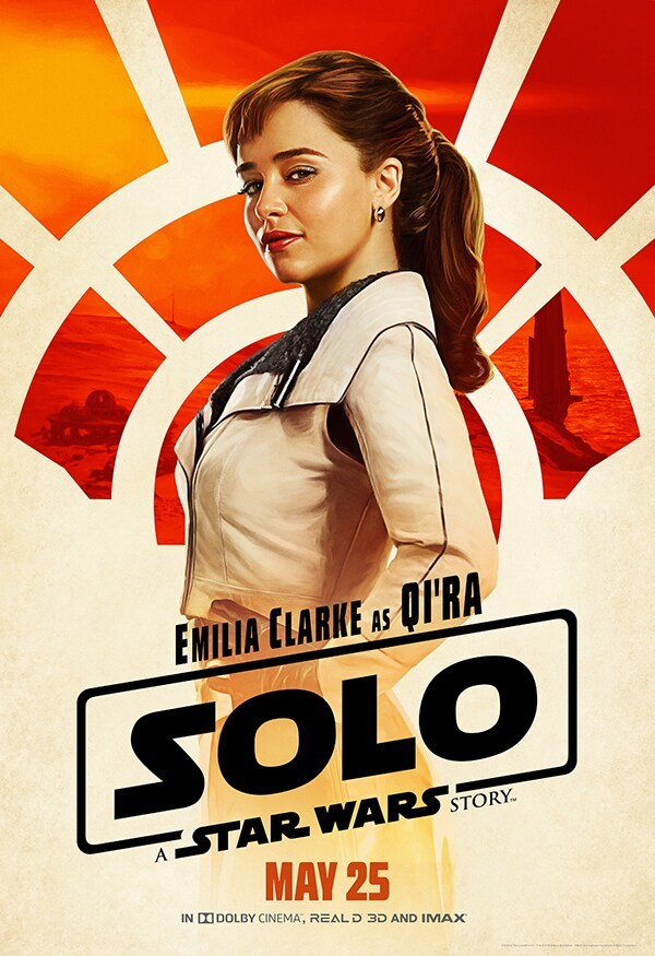 Qi'ra from Solo: A Star Wars Story