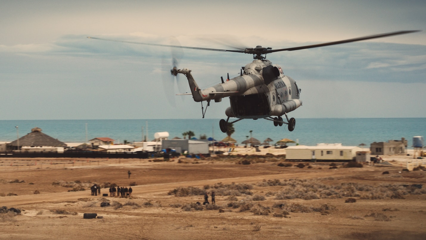 Mexican navy gets ready to hunt down poachers in the Sea of Cortez. (Photo by National Geographic)
