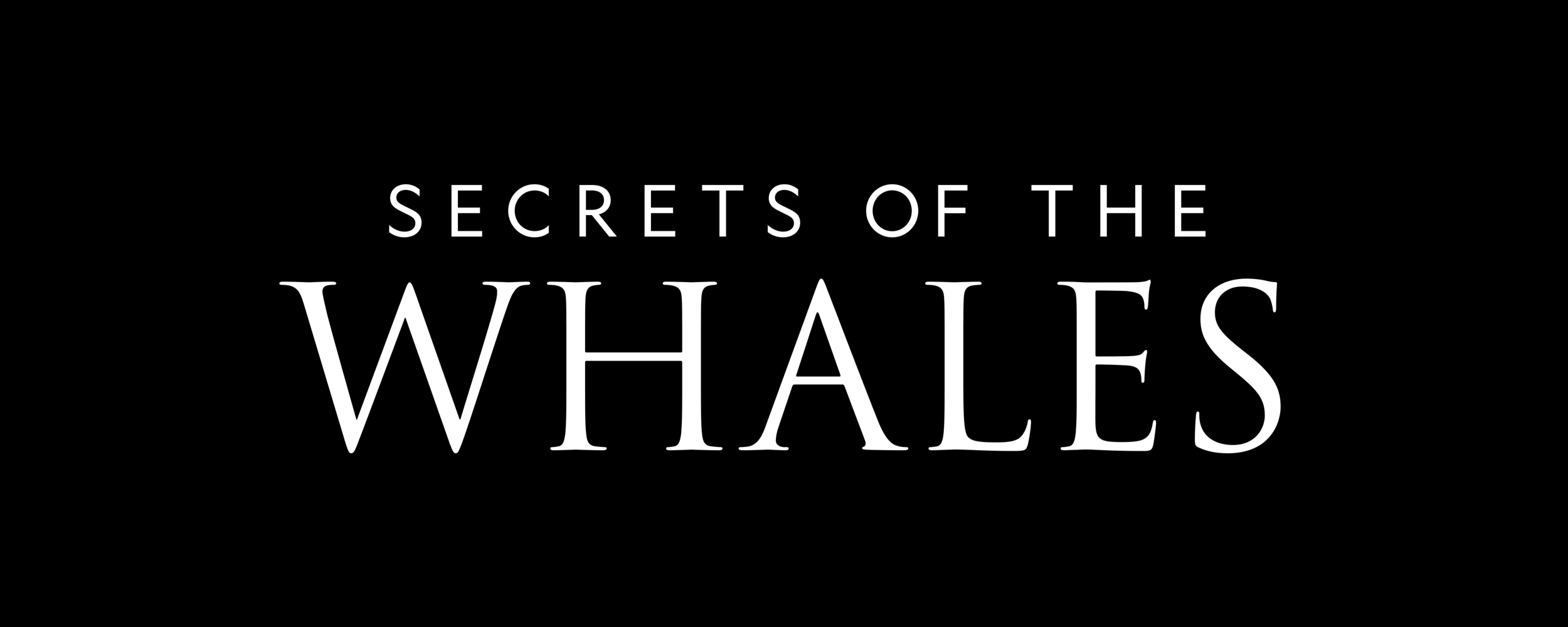 Secrets of the Whales Media Kit