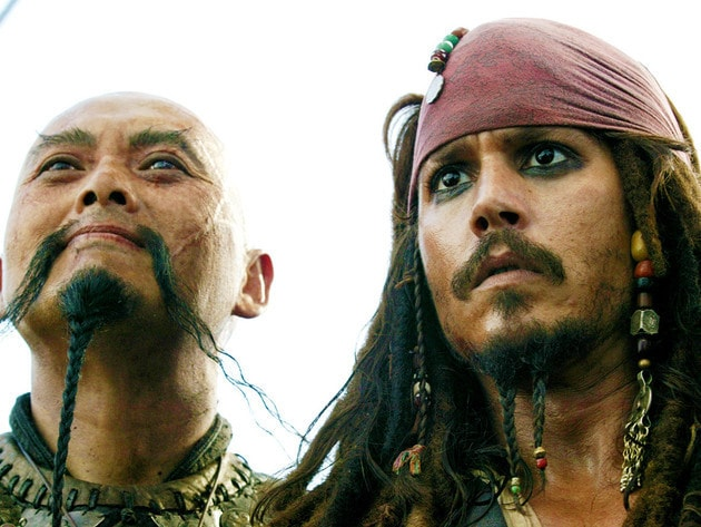 Two of the most legendary pirates ever to roam the seas.