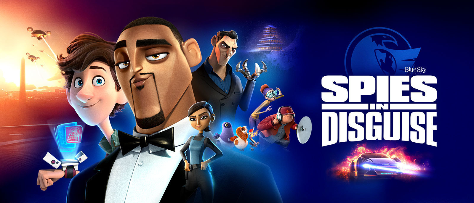 Spies in Disguise Hero