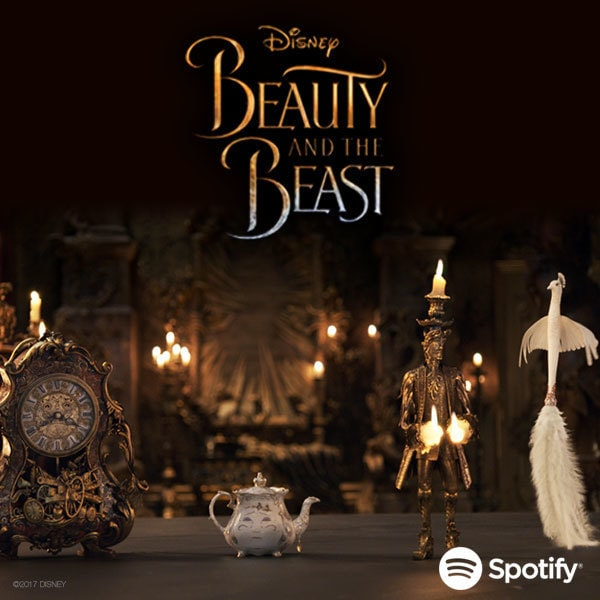 Beauty and The Beast - Spotify