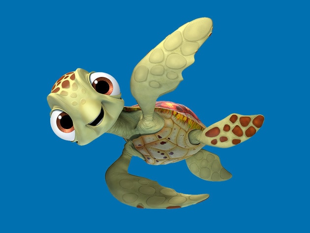 Crush and Squirt just might be the coolest turtles in the ocean. They're always happy to lend a f...
