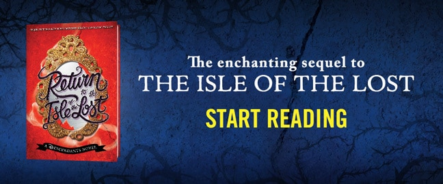 Decendants - side by side - Return to the Isle of the Lost - Start Reading