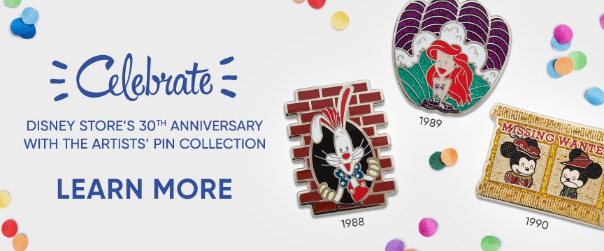 Disney Store 30th Anniversary Pins