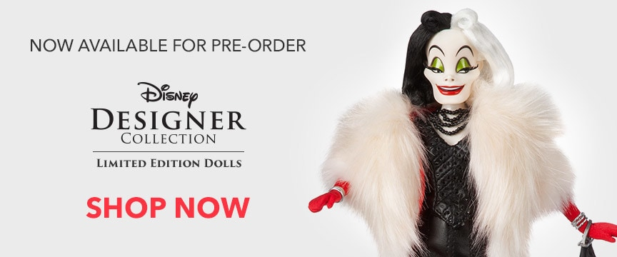 Disney Designer Collection Doll Set
