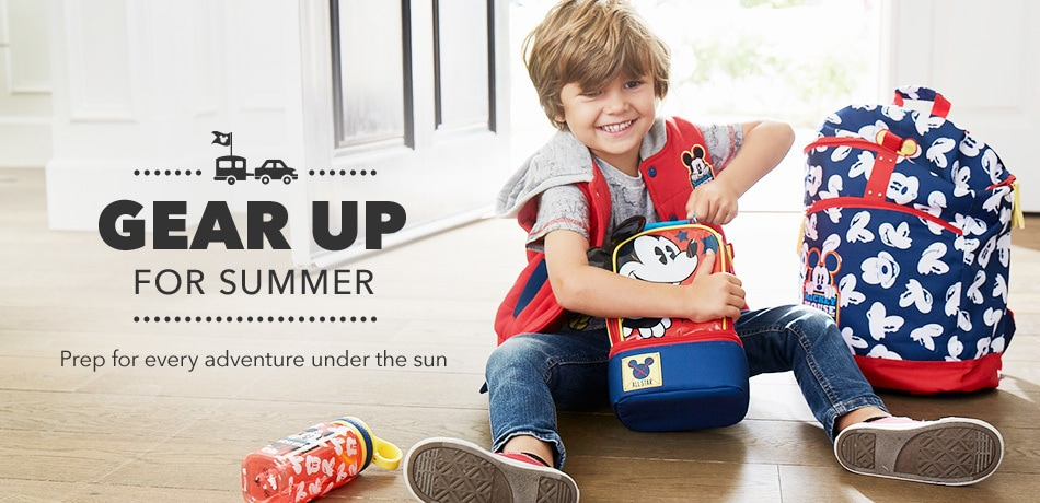 Disney Store Promo - Gear Up For Summer 2017