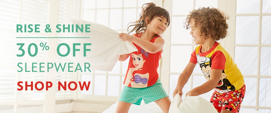 Disney Store Promo - Sleepwear Sale 5/15