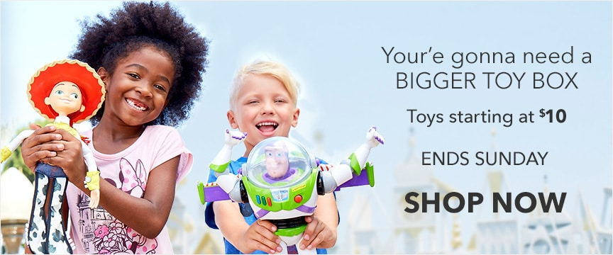 Disney Store Promo - Big Box Event