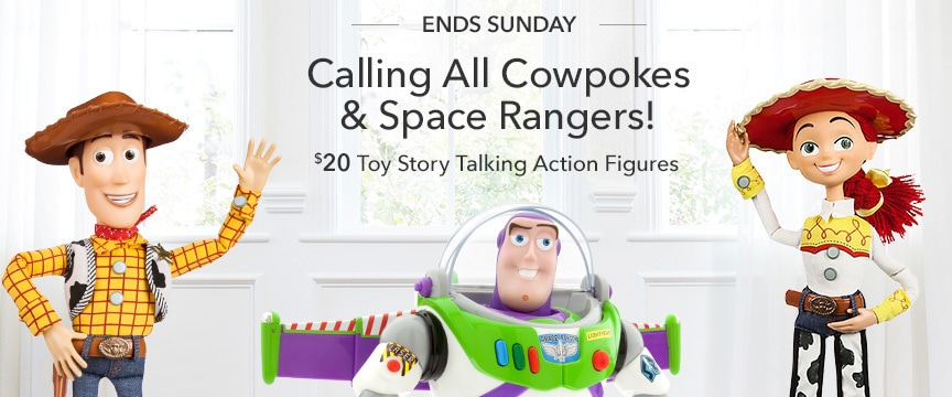 Disney Store Promo - Toy Story TAF 6/23