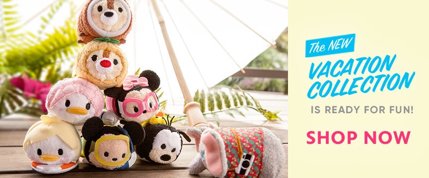 Disney Store Promo - Tsum Tsum Vacation Collection