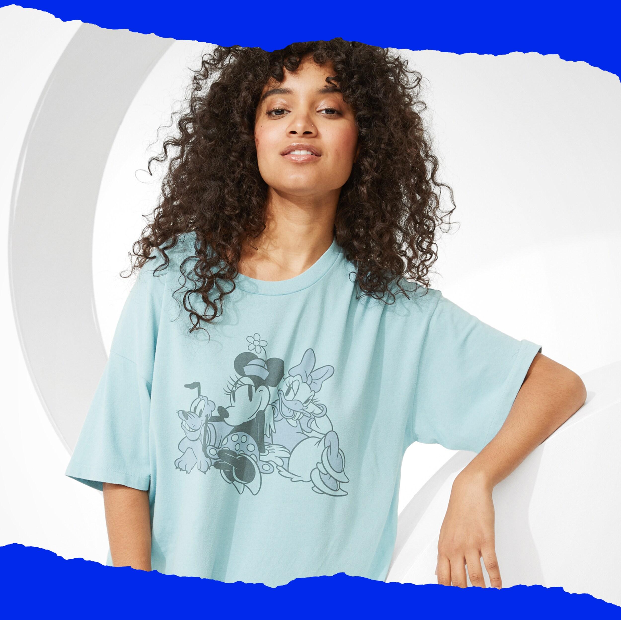 Disney X AE Oversized Graphic T-Shirt