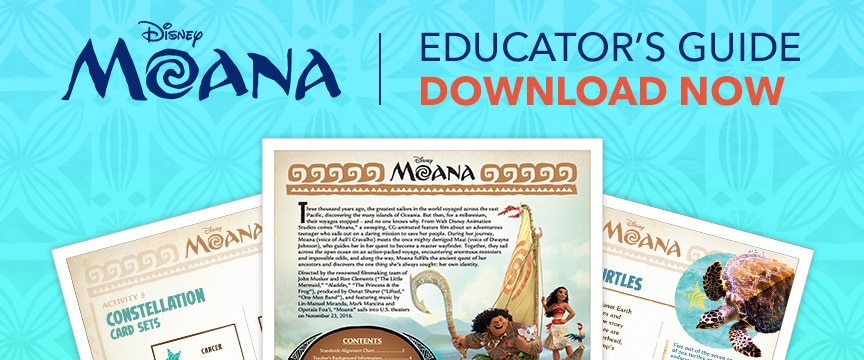 Moana Educator's Guide