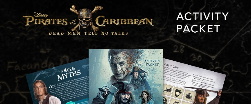 Pirates of the Caribbean - Activity Packet