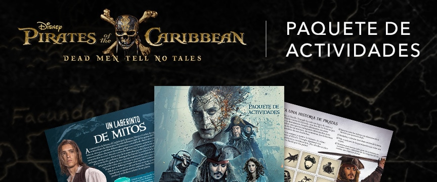 Pirates of the Caribbean - Activity Packet - Spanish