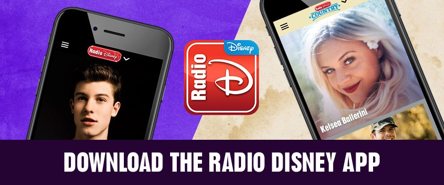 Download the Radio Disney App
