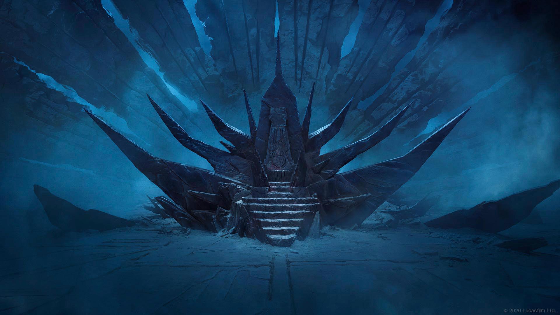 Trono do Imperador em Exegol
