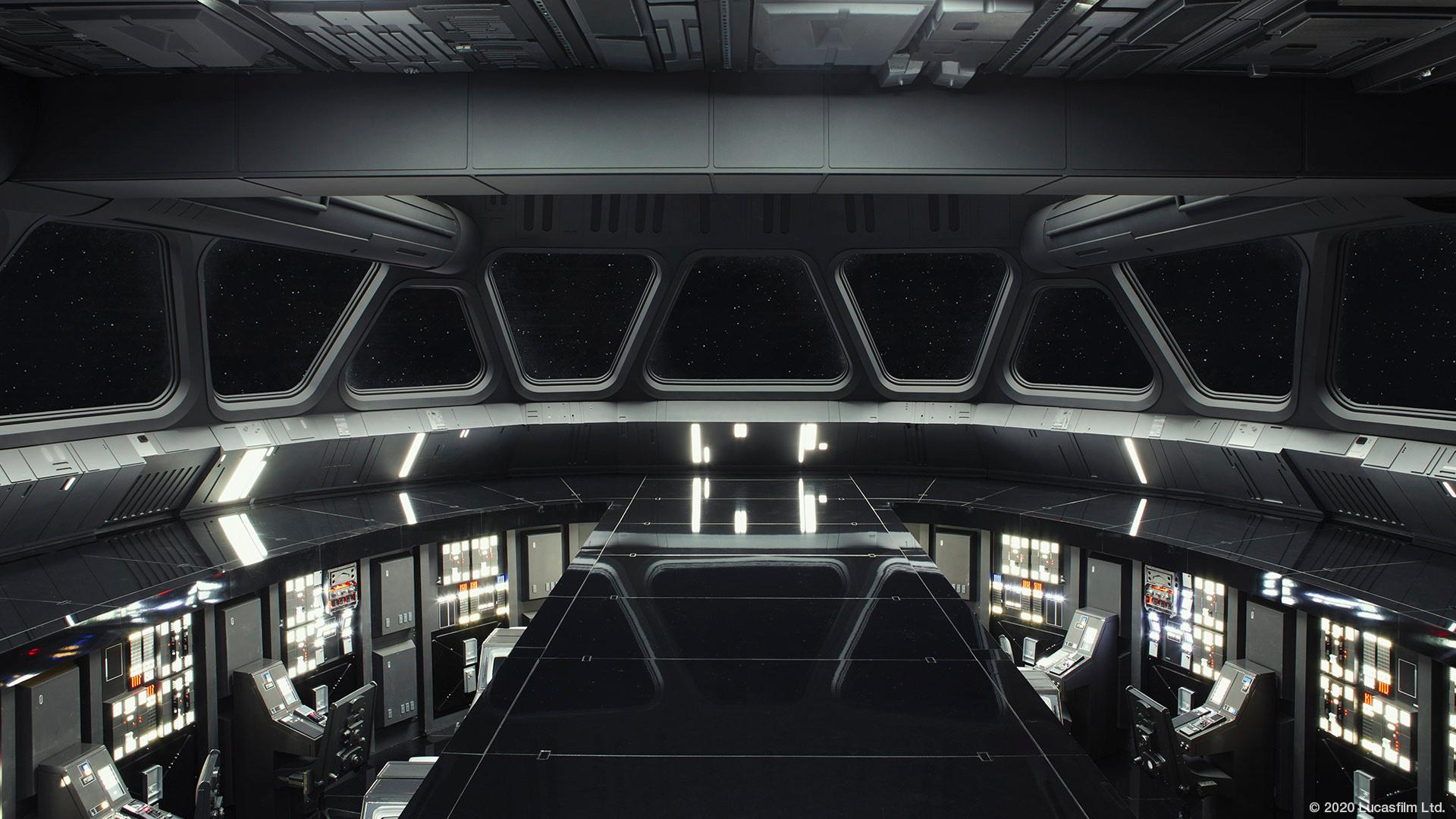 Ponte da Destroier Estelar Classe Imperial