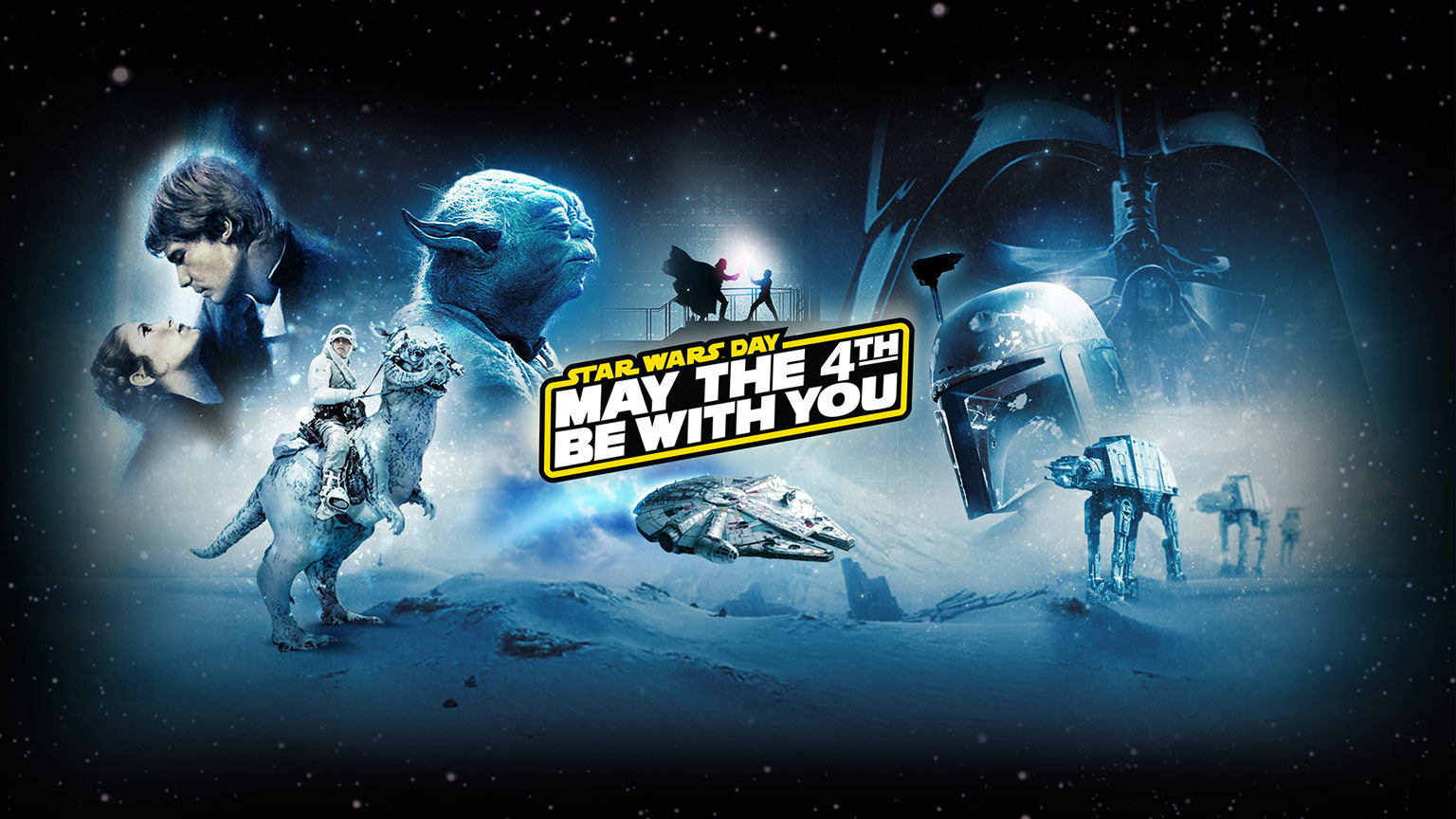 Star Wars Day May The 4th Be With You Starwars Com