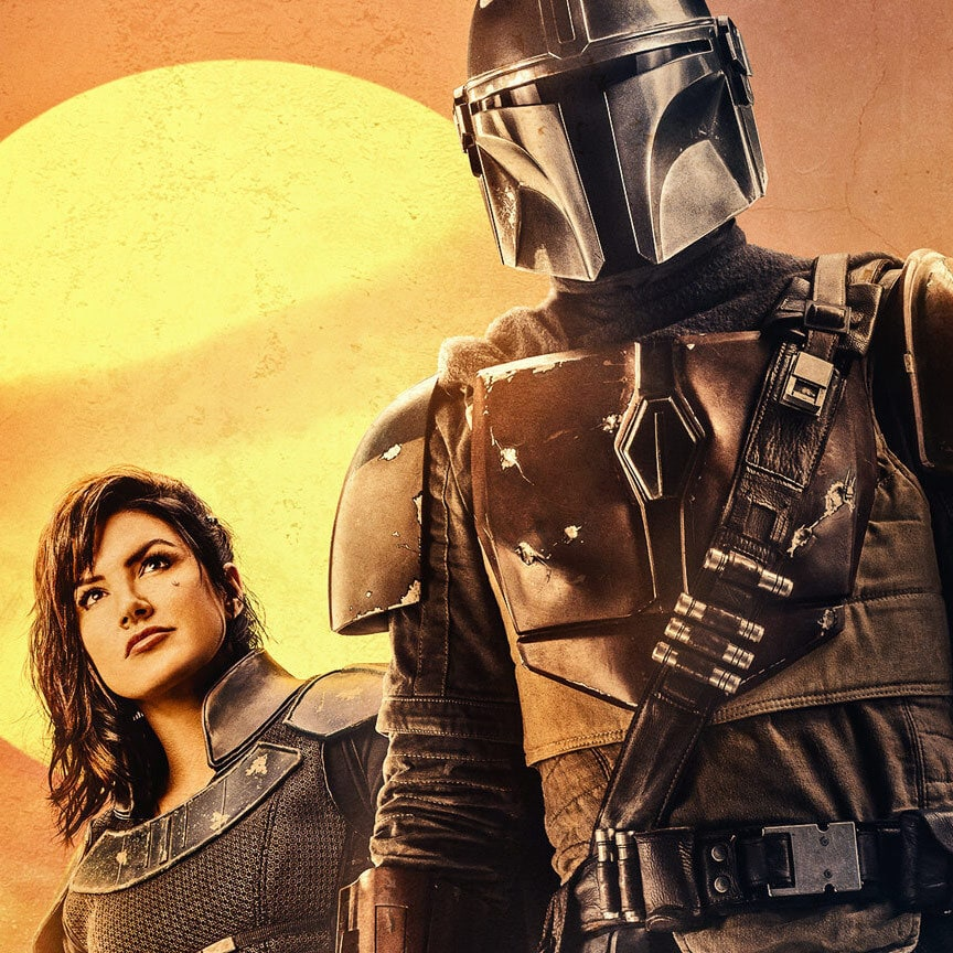 The Mandalorian key art