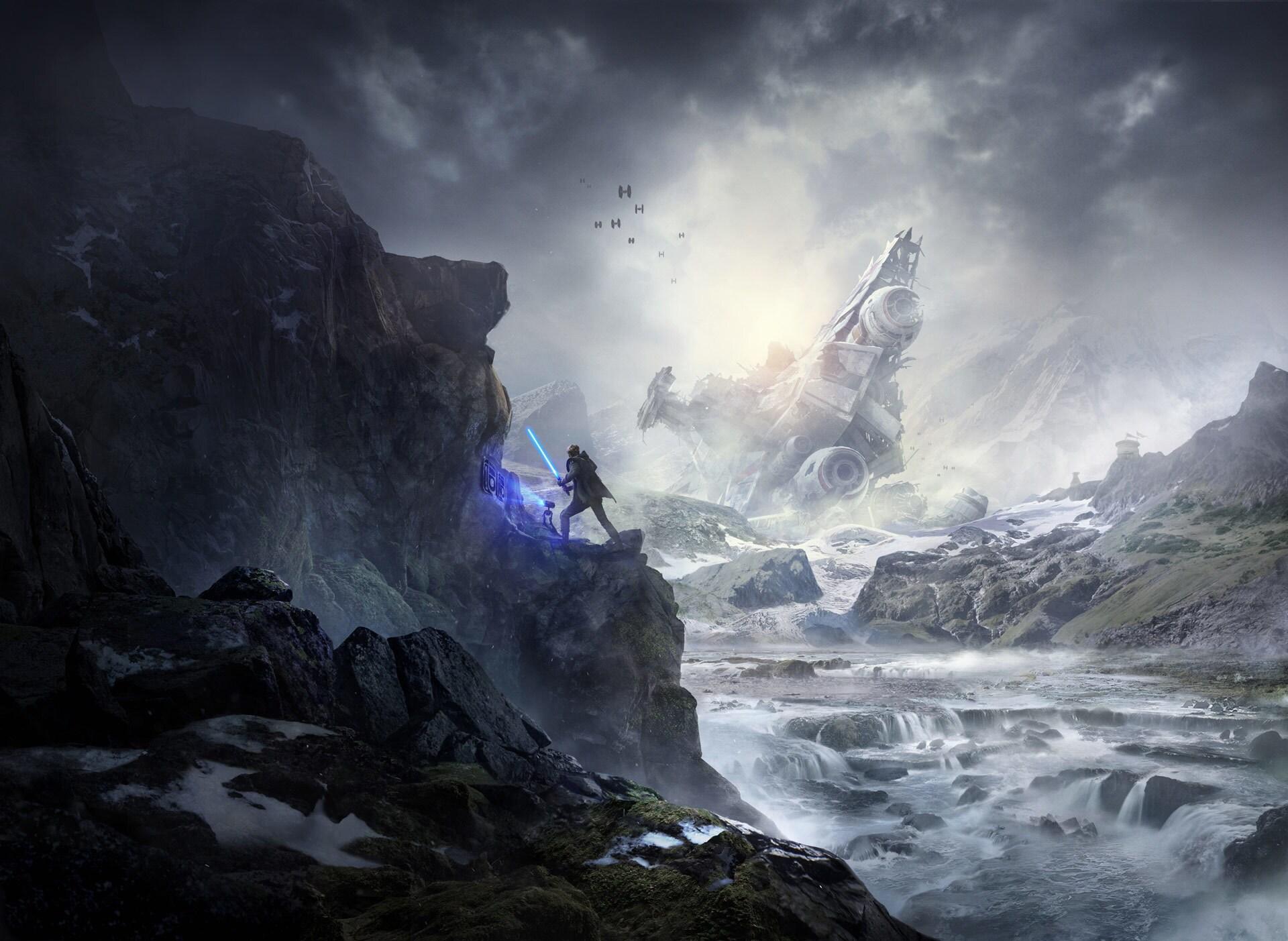 Image result for star wars jedi fallen order concept art