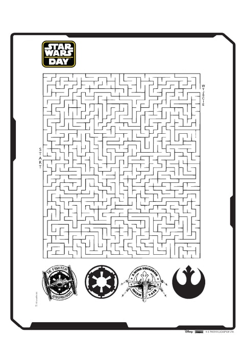 Star Wars labyrinths