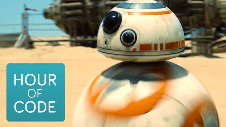 An Hour of Code with Star Wars