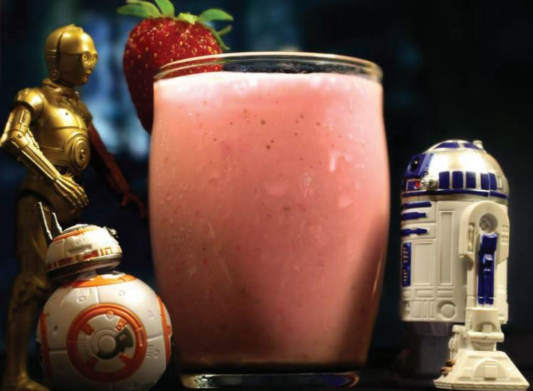Make this deliciously fruity Vitamin C-3PO smoothie