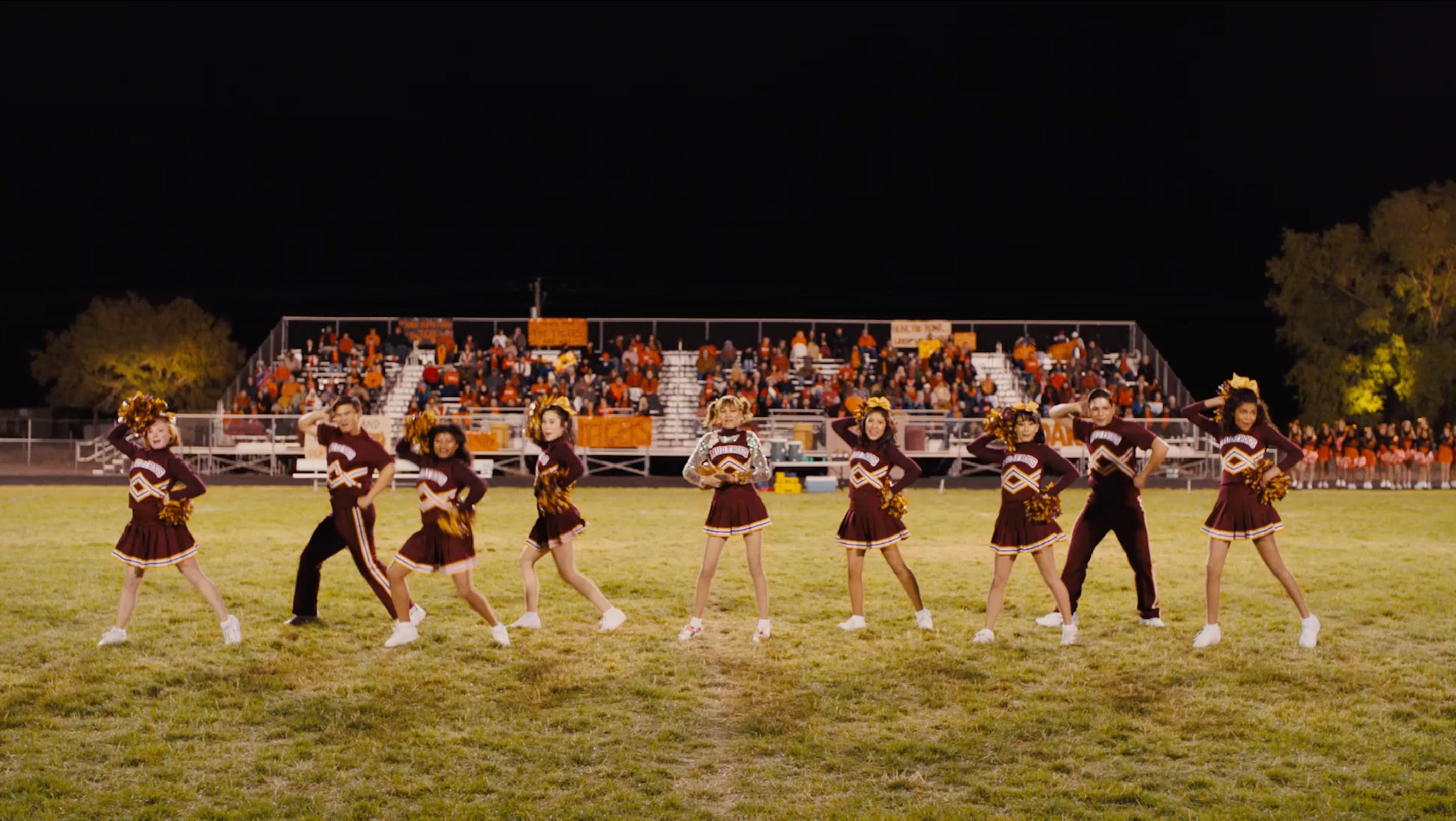 cheerleading scene from Stargirl