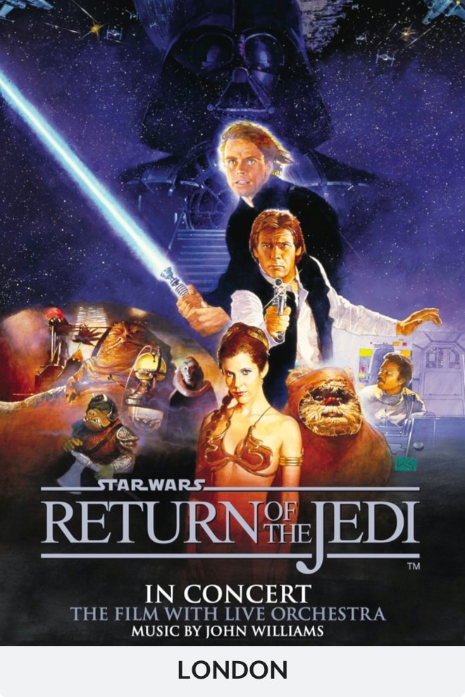Star Wars: Return of the Jedi Concert - London
