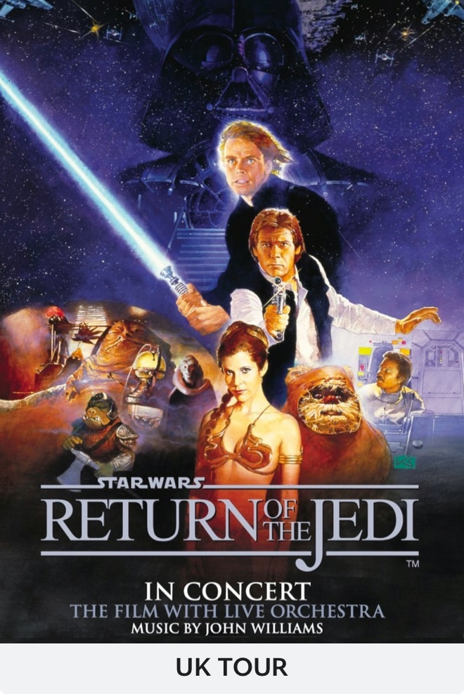 Star Wars: Return of the Jedi Concert - Tour