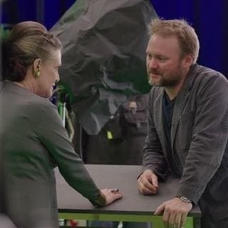 Carrie Fisher & Rian Johnson - The Director and the Jedi | Star Wars: The Last Jedi