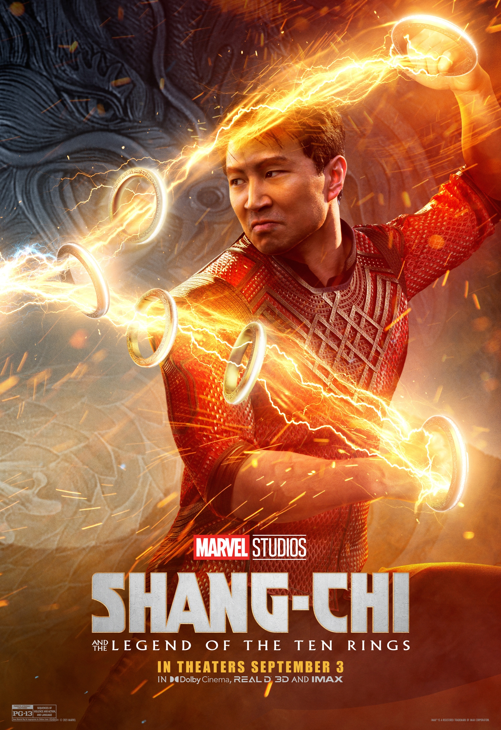 Official poster for Marvel Studios' Shang-Chi and the Legend of the Ten Rings