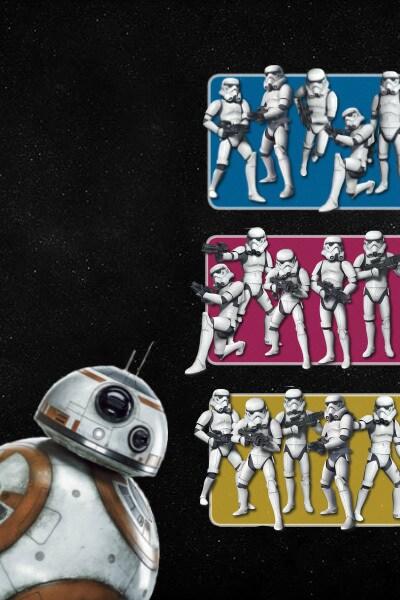 Stormtroopers en patrouille