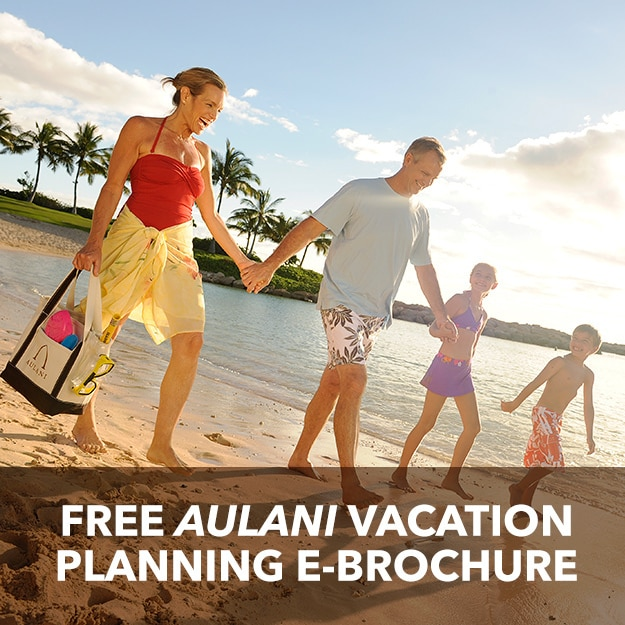 Free Aulani Vacation Planning e-Brochure