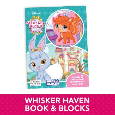 Whisker Haven Books and Blocks
