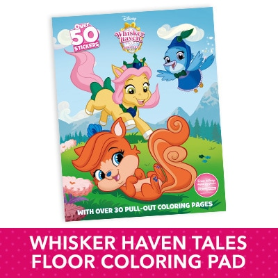 Whisker Haven Tales Coloring Pad