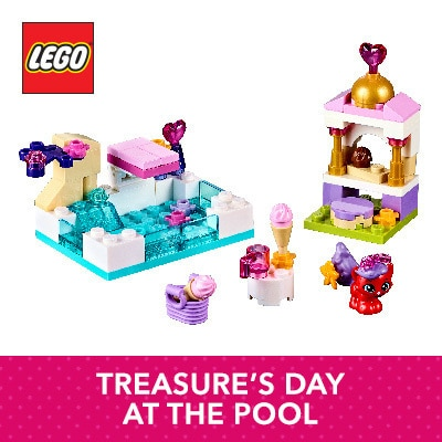LEGO - Treasure's Day at the Pool