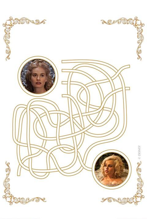 Disney Studios  - Cinderella Maze PDF