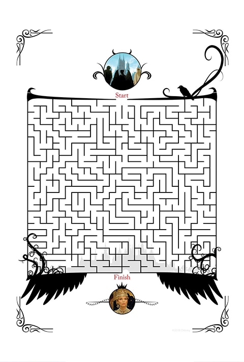Disney Studios  - Maleficent 2 Maze PDF