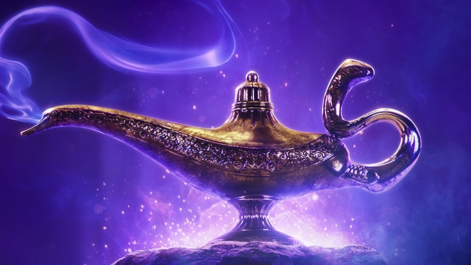 The First Aladdin Teaser Is Here and We'll Have the Chills Forever