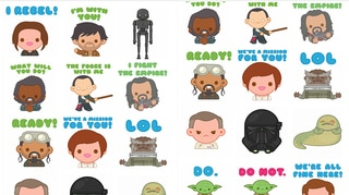 Star Wars Stickers2 Gallery