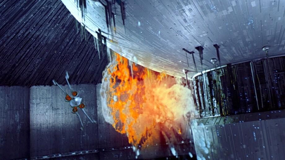 Az Új Halálcsillag felrobbantása